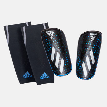 adidas X Foil Compression Sleeve Football Shin Guards