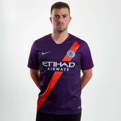 Nike Manchester City 18/19 3rd S/S Replica Football Shirt