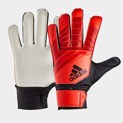 Kids Flat Palm Goalkeeper Gloves Nike Adidas Puma Goalie Gloves