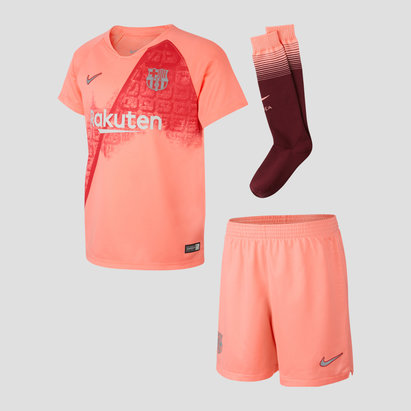 Nike FC Barcelona 18/19 3rd Little Kids Football Kit