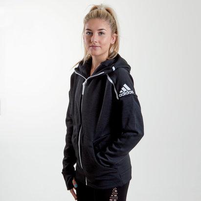 adidas ZNE Unisex Full Zip Hooded Training Sweat