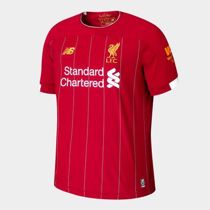 New Balance Liverpool FC 19/20 Kids Home S/S Football Shirt