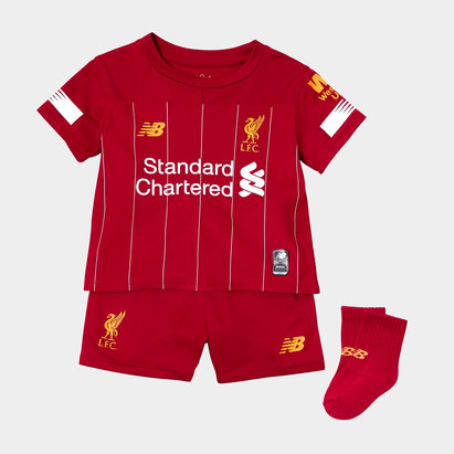 5327b01c124 New Balance Liverpool FC 19 20 Home Mini Kids Football Kit