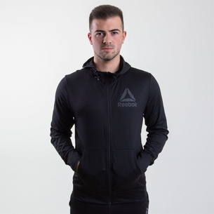 Reebok SpeedWick Full Zip Hooded Sweat