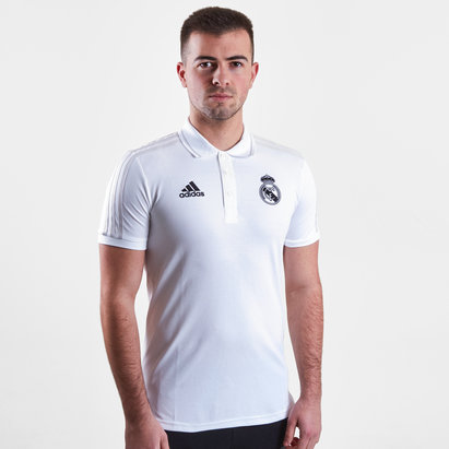 adidas Real Madrid 2019 Pique Football Polo Shirt