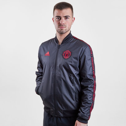 adidas Manchester United 2019 Anthem Full Zip Football Jacket
