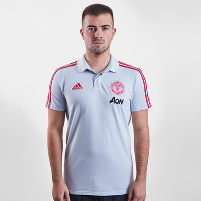 adidas Manchester United 2019 Players Football Polo Shirt
