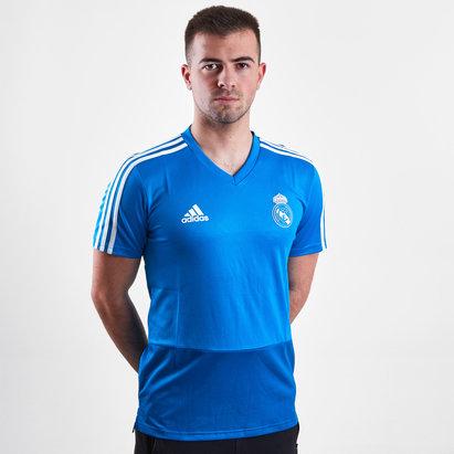 adidas Real Madrid Short Sleeve Tee Mens
