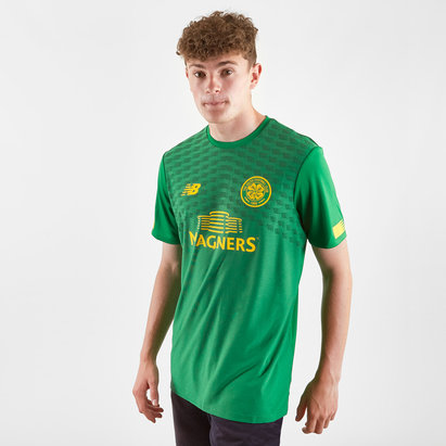 New Balance Celtic FC 19/20 Pre Match S/S Football Shirt