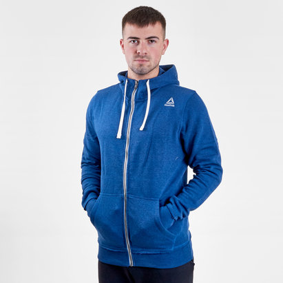 Reebok Marble Full Zip Training Hooded Sweat