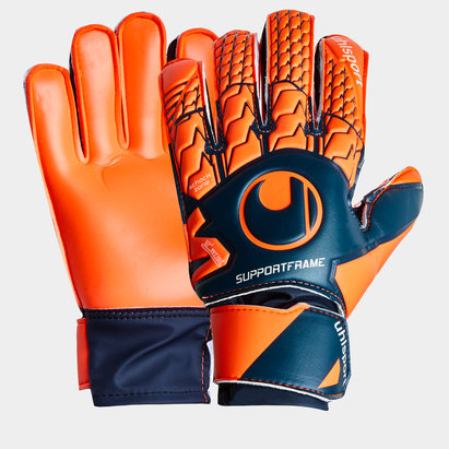 Uhlsport Next Level Soft Support Frame Kids Goalkeeper Gloves