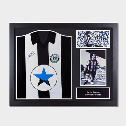 Newcastle United Kevin Keegan 1982 Signed Framed Football Shirt
