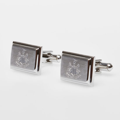 Newcastle United Stainless Steel Crest Cufflinks