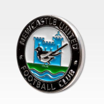 Newcastle United Colour Retro Pin Badge