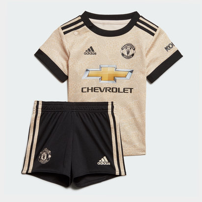 adidas Manchester United 19/20 Away Infant Replica Football Kit