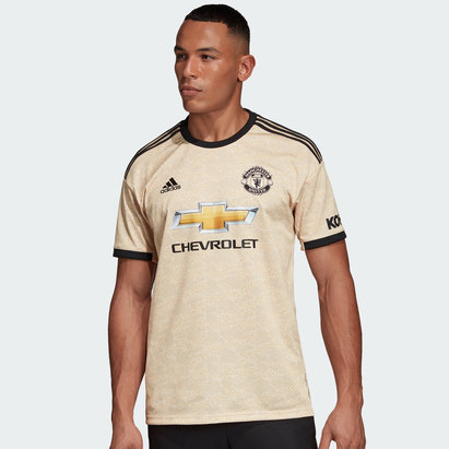 adidas Manchester United 19/20 Away S/S Replica Football Shirt