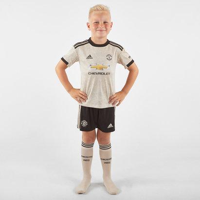 adidas Manchester United 19/20 Away Mini Kids Replica Football Kit