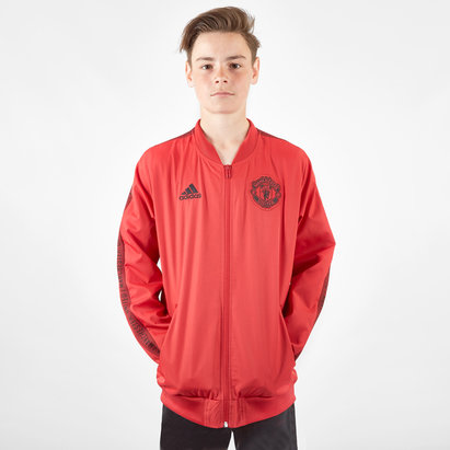 adidas Manchester United 19/20 Kids Anthem Football Jacket