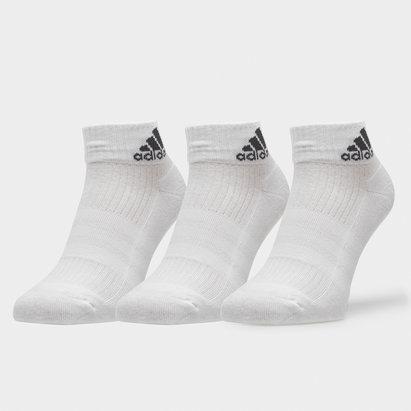 adidas 3 Pk Performance Ankle Socks