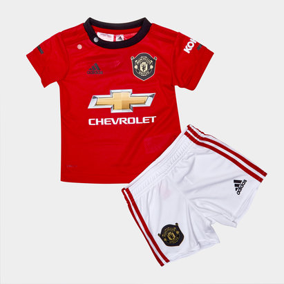 adidas Manchester United 19/20 Home Infant Replica Football Kit