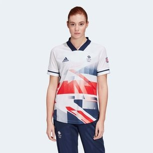 adidas Team GB Football Jersey Ladies