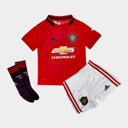 9cb84b4dccc adidas Manchester United 19/20 Home Mini Kids Replica Football Kit
