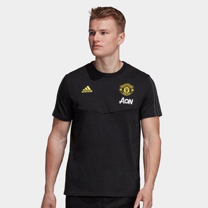 adidas Manchester United 19/20 Players Football Training T-Shirt