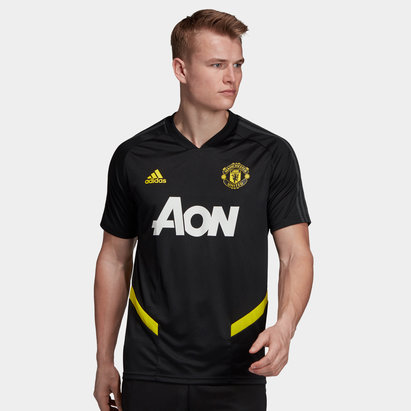 adidas Manchester United 19/20 Players S/S Football Training Shirt