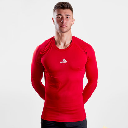 adidas Alphaskin Sport L/S Compression T-Shirt