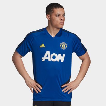 adidas Manchester United 19/20 Players S/S Football Training Shirt