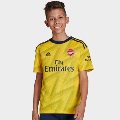 adidas Arsenal 19/20 Kids Away S/S Replica Football Shirt