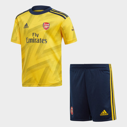 adidas Arsenal 19/20 Away Mini Kids Replica Football Kit