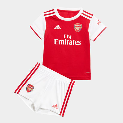 adidas Arsenal 19/20 Home Infant Replica Football Kit