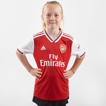 adidas Arsenal 19/20 Home Kids S/S Replica Football Shirt