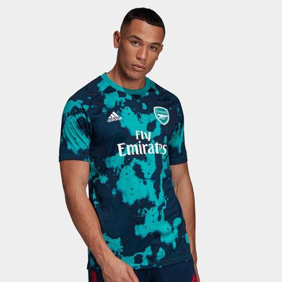 adidas Arsenal 19/20 Home Pre Match S/S Training Shirt