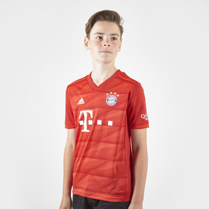 adidas Bayern Munich 19/20 Kids Home S/S Replica Football Shirt