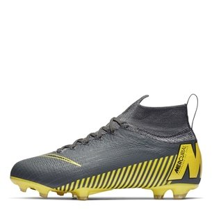 a2534b3b5eae Nike Mercurial Superfly VI Elite Kids FG Football Boots