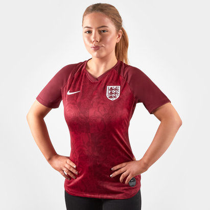 Nike England Womens 2019 Away S/S Replica Football Shirt