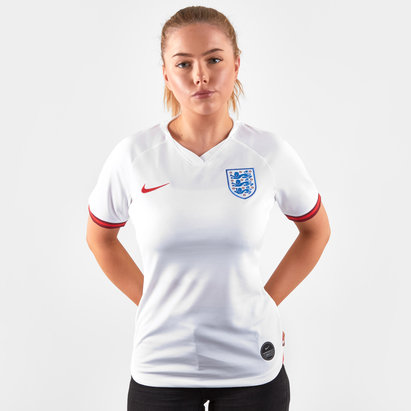 Nike England Womens 2019 Home S/S Replica Football Shirt