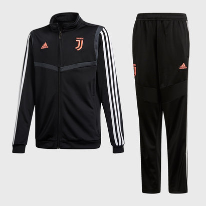 adidas Juventus 19/20 Kids Football Tracksuit