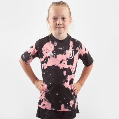 adidas Juventus 19/20 Kids Pre Match S/S Football Shirt