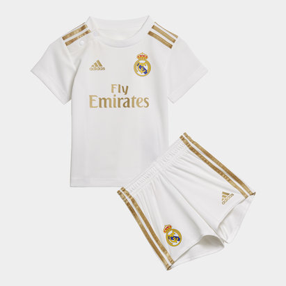 adidas Real Madrid 19/20 Home Infant Replica Football Kit