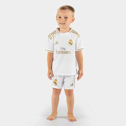 adidas Real Madrid 19/20 Home Mini Kids Replica Football Kit