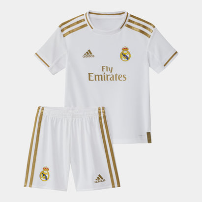 adidas Real Madrid 19/20 Kids Home Replica Football Kit