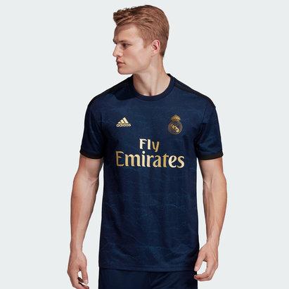 adidas Real Madrid 19/20 Away S/S Replica Football Shirt