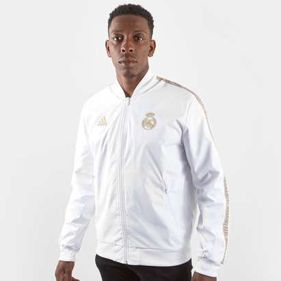 adidas Real Madird Anthem Jacket Mens