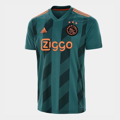 adidas Ajax 19/20 Away S/S Replica Football Shirt
