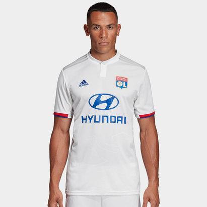 adidas Olympique Lyon 19/20 Home S/S Replica Football Shirt