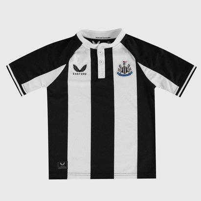 Castore Newcastle United Home Shirt 2021 2022 Junior