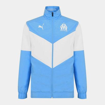 Puma Marseille Pre Match Jacket 2021 2022 Mens